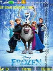Скриншот темы Frozen