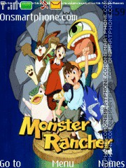 Monster Rancher theme screenshot