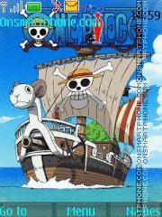 Going Merry One Piece theme screenshot