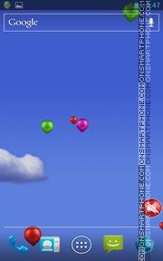 Balloons Live Wallpaper theme screenshot