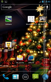 Christmas HD 01 theme screenshot