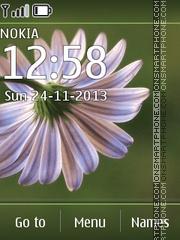 Скриншот темы Flower 02