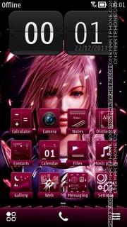 Final Fantasy XIII Theme-Screenshot
