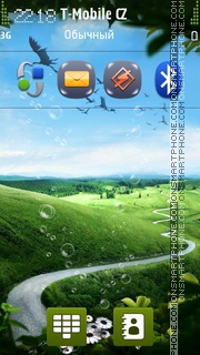 Coming Home HD tema screenshot