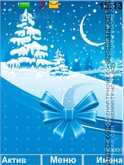 Winter Decoration es el tema de pantalla