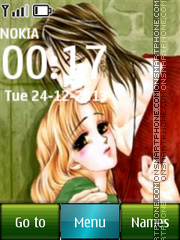 Anime Love 07 tema screenshot