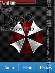Umbrella Corporation - The Resident Evil theme screenshot