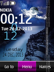 Canal Live Clock theme screenshot