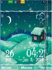 Winter House theme screenshot