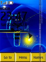 Night Cat 01 theme screenshot