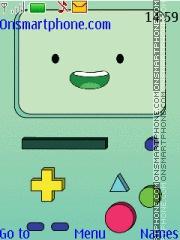 Скриншот темы BMO Adventure Time