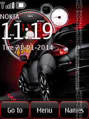 Nissan Juke theme screenshot