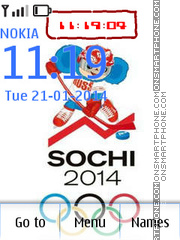 Sochi theme screenshot