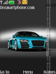 Audi R8 tema screenshot