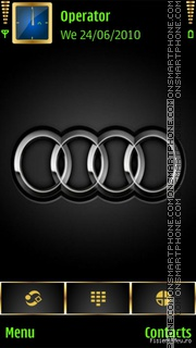 Audi Badge theme screenshot
