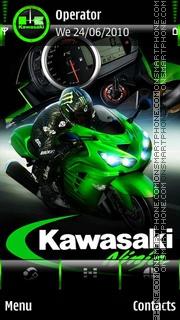 Скриншот темы Kawasaki