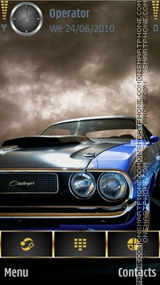Muscle Car theme screenshot
