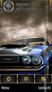Скриншот темы Muscle Car