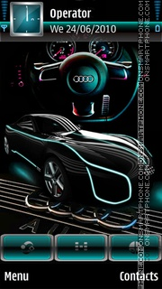 Audi theme screenshot