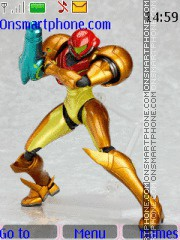Figma de Samus Aran! theme screenshot