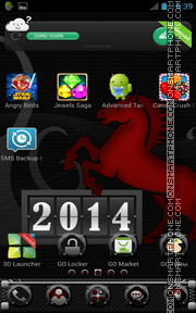 Year 2014 theme screenshot