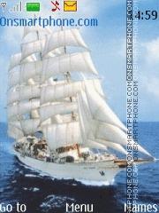 Sailing yacht theme screenshot