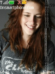 Kristen Stewart theme screenshot