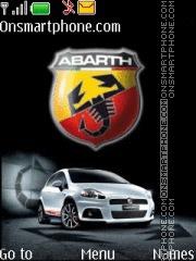 Abarth theme screenshot