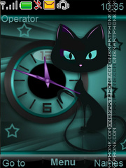 Cat tema screenshot