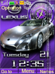 Lexus theme screenshot