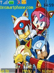 Samurai Pizza Cats theme screenshot