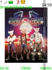 Biker Mices Fron Mars theme screenshot