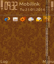 Woodish theme screenshot