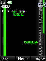 Nokia theme screenshot