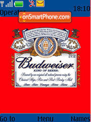 Budweiser 02 theme screenshot