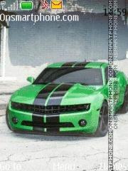 Скриншот темы Chevrolet Camaro