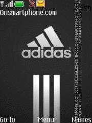Скриншот темы Adidas