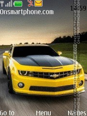 Chevrolet Camaro theme screenshot