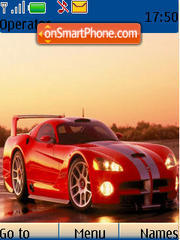 Dodge Viper theme screenshot