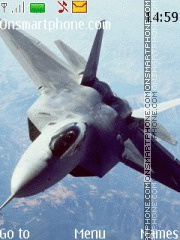 F-22 tema screenshot