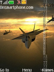 F-22 theme screenshot