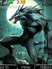 Werewolf tema screenshot