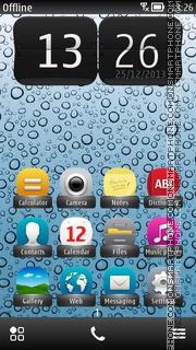 iDrops es el tema de pantalla
