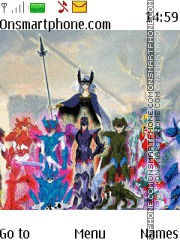 Saint Seiya Asgard theme screenshot
