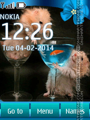 Funny hamsters tema screenshot