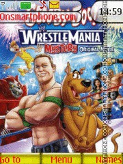 WWE Scooby-Doo theme screenshot