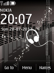 Music Style theme screenshot