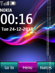 Xperia Z Icons theme screenshot