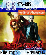 Devil May Cry es el tema de pantalla