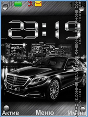 Mercedes-Benz S600 theme screenshot